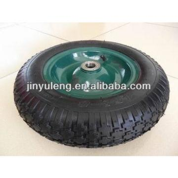 14 inches 3.50-8 inflatable rubber wheel , pneumatic wheel ,use for wheelbarrow , trolley