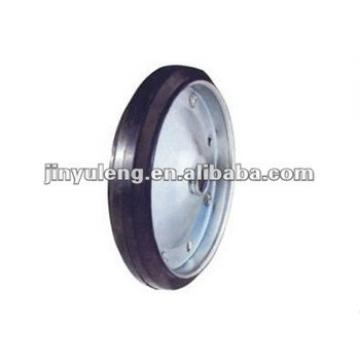 8x1.5 solid rubber wheel