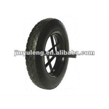 14X3.5 solid rubber wheel