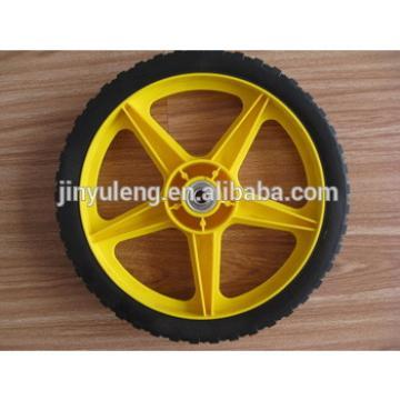 Hollow Rubber Wheel 14''X1.75'' for bike ,tool cart