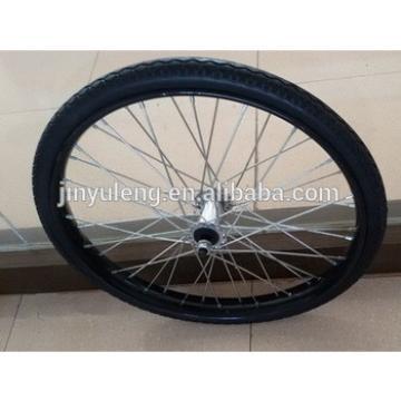 hot selling heavy duty 26x2 1/2 solid/ pneumatic horse cart wheel