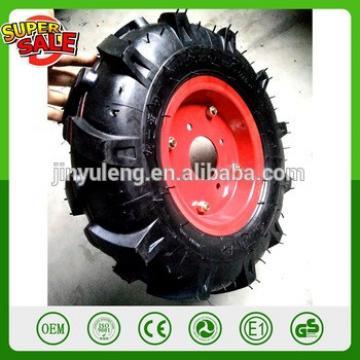 16'' 4.00-8 pneumatic rubber wheel air wheel mini-tiller Tillers JS-GZ Mini tiller micro-cultivator tractor wheel