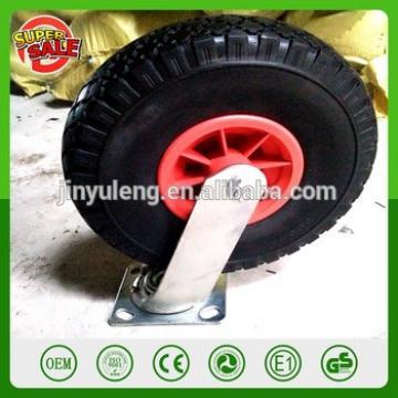 10'' 300-4PU foam solid universal wheel Omni-directional wheel Universal castor trolley hand truck dolly wagon cart tools wheel