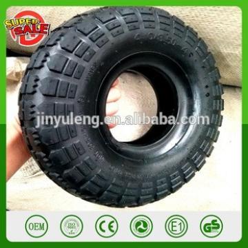10'' 4.10/3.50-4 pneumatic rubber air wheel tire Sack Truck Trolley wheelbarrow Wheel Replacement Tyre