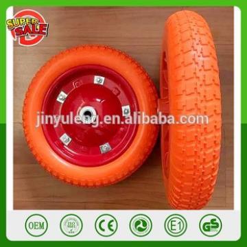 3.50-8 13 inch Tire Diameter Flat Free Wheelbarrow Tire Pu foma wheel solid wheel hand truck trolley tool cart wheel