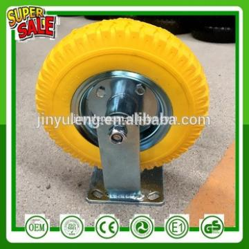 Omni-directional wheel mecanum wheel trudle 8 inch 2.50-4 Pu foam solid wheel universal casters truckle suppler universal wheel
