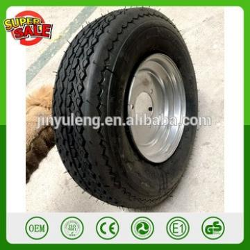 13'' power capacity 4.00-6 pneumatic rubber wheel Spare wheel tractor tricycle motorcycle lawn mower trailer wheels metal rim