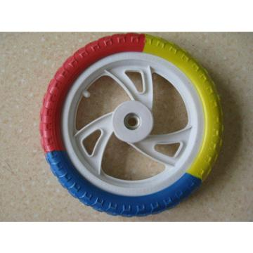 12 inch EVA wheels for kid bicycle, nontoxic wheel for baby dolly