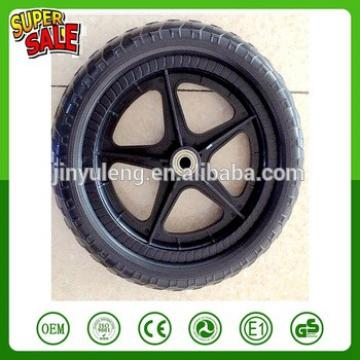 12'' EAV solid foam wheel , plastic rim .Baby carriage wheels ,baby child bike wheel