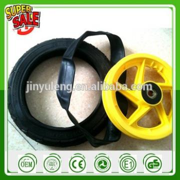 12 inches plastic rim pneumatic Bicycle wheels for kid, and child .Baby carrier wheel