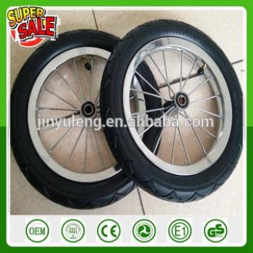bick bicycle wheel Trailer flat tool cart Balanced car children bicycle pneumatic rubber wheel spokes ruber wheel 12 14 16 inch