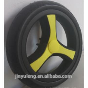 8 inch eva pu foam pneumatci wheel for baby bile