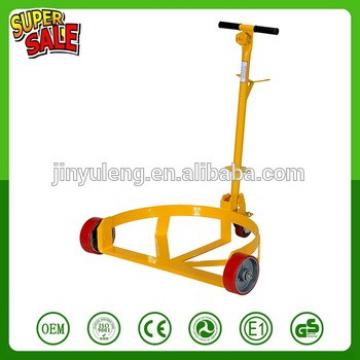 Heavy metal platform gasoline Oil drum water bucket pails tool caart han tolley truck Drum Caddy with Bung Wrench Handle