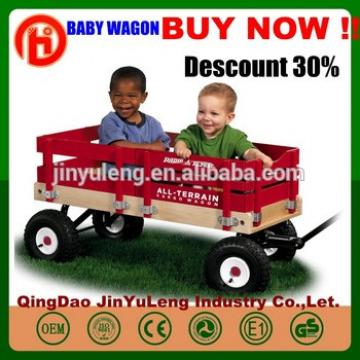 TC1833 High quality colorful wood baby kinds wagon Outdoor camping fishing shopping baby child folding wagon cart