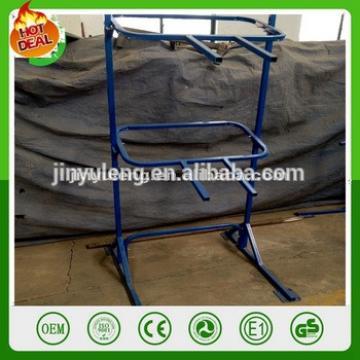 Wheelbarrow shelving for exhibition sample trade show rack