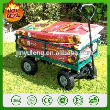 garden mesh tool cart Steel wagon trailers garden wagon TC1859