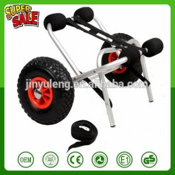 Portable Canoe Carrier Transport Dolly kayak tool cart sailboat support with wheel tralier