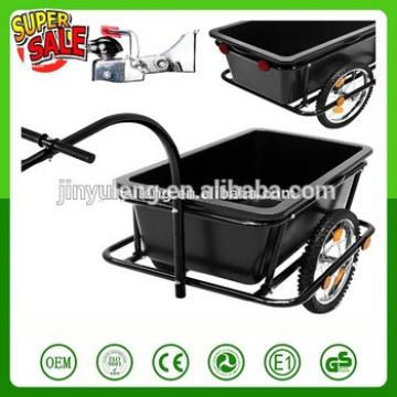 90LCapacity Bike Cargo Trailer Luggage Shopping Bicycle Trailer Hand Wagon