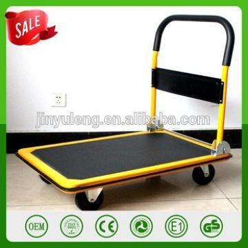 4 solid rubber wheel 150 300 kg capacity portable handling folding platform hand truck hand trolley moving tool cart PH150 PH300