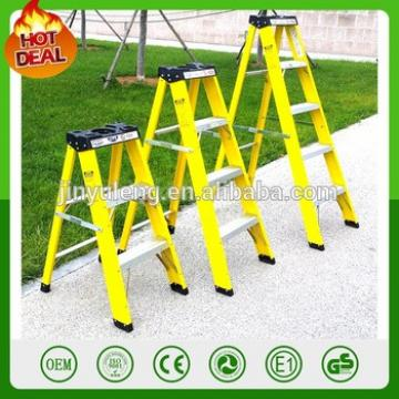 FRP Insulation ladder Fiberglass Stepladder Multi-Task Ladder for electrical wire repair Shop Garage Jobsite Rescue Repair Paint