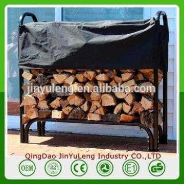 4ft 8ft Metal Outdoor indoor Firewood Log Storage Rack
