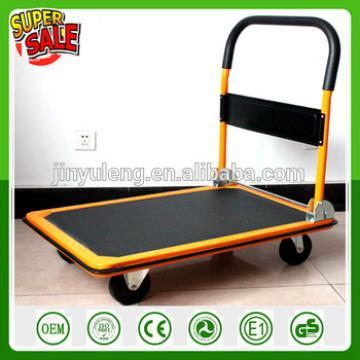 PORTABLE 300kg capacity FOLDED PLATFORM FLATBED HAND TRUCK HAUL HAULER CART WAGON trolley move tool cart