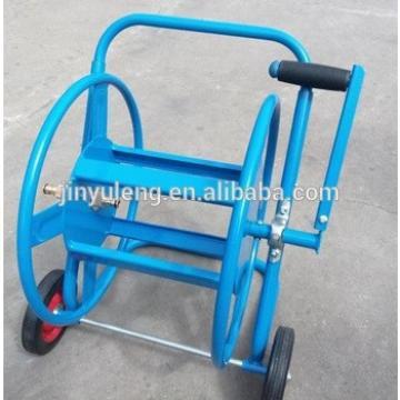 folding,adjustable handle hoses reel water cart