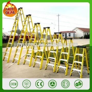 Fiberglass Stepladder for electrical wire repair Shop Garage Jobsite Rescue Repair Paint FRP Insulation ladder