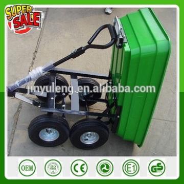 mini dumper and power tool cart for Farm and garden folding wagon move tool cart wheelbarrow