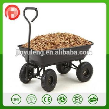 Utility Power Plastic tray dump wagon use for Lawn, Garden,Yard,