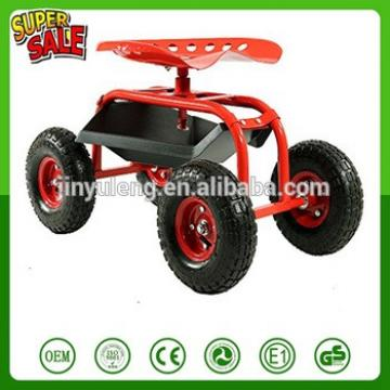 Heavy load garden farm movable seat Work small seat gardening Rotating work bench stool