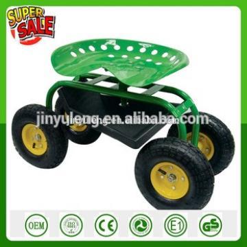 four wheels Work Rolling garden seat ROLLING GARDEN TOOLstool