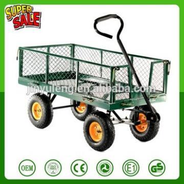 400LBS Garden tool cart gand wagon cart rolling tool cart wheelbarrow