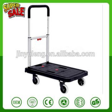 300kg capacity folding Plastic Platform hand trolley truck cart wheelbarrow move tool cart
