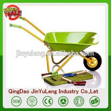 Growth gift Kids toys Garden Metal children Wheelbarrow for CHILDREN tool child wheelbarrow trolley