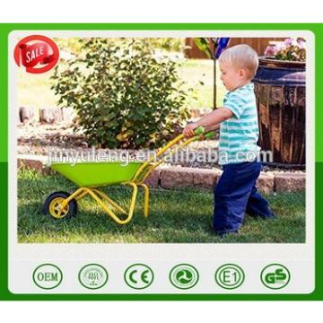 Garden Kids Green Metal Wheelbarrow toys CHILDRENS P METAL WHEELBARROW tool for kins