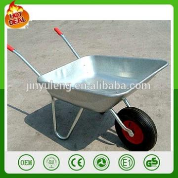 popular handiness pneumatic wheel aluminum metal wheelbarrow wheel barrows hand trolley truck Outdoor family courtyard garden