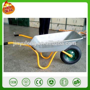 hot popular matel farming construction cement aluminum wheel barrow wb6204