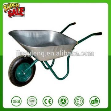 WB6204 Farms pasture lands garden orchard farming construction cement aluminum wheel barrow wheelbarrows hand tool cart trally