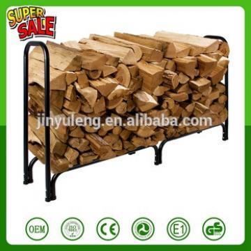 outdoor steel rustic household firewood andirons wood log rack
