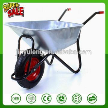 WB6404H 200kg power Garden Metal wheel barrow for South America, Western Europe market