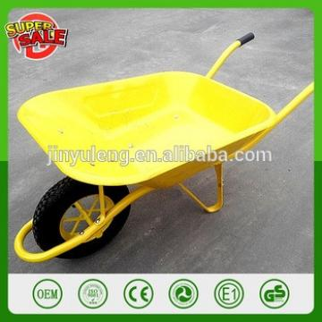 yellow Hot seal wheelbarrow garden wheelbarrow tool cart hand trolley wagon dolly