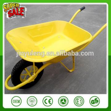 WB6400 Hot sale durable steel construction wheelbarrow ,Construction, garden wheel barrow fot sale