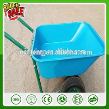portable double wheels wheelbarrow , hand trolley