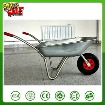 whole body aluminum alloy material wheelbarrow with plastic air pneumatic wheel WB5206