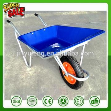 Lightweight small multi-function wheelbarrow shallow tray wheelbarrow home alloy