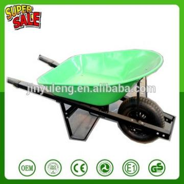 150kg capacity heavy power wheelbarrow hand trolley concrete cart barrow buggy pushchair steel tray pneumatic wheel