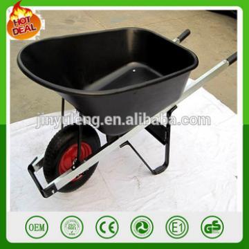 large capacity Aluminum alloy handle plastic tray Power Wheelbarrow wheelbarrows for seal Australia market