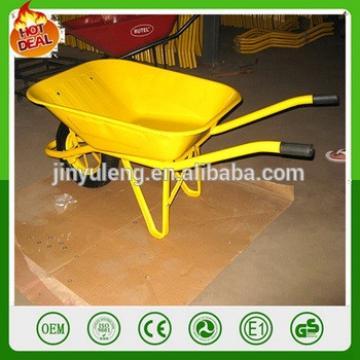 Hot sale durable steel construction WB6400 wheelbarrow ,Construction, garden wheel barrow