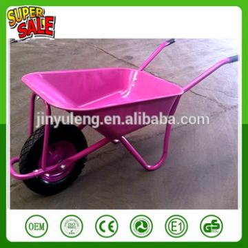 metal power horticulture gardening wooden square handles,cheap wheel barrow pink wheel barrow